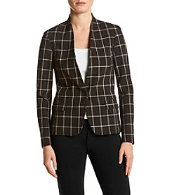 Tommy Hilfiger® Windowpane Plaid Jacket