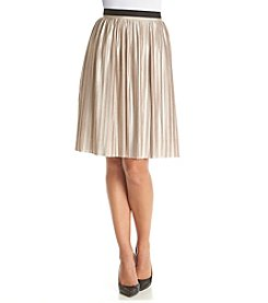 Tommy Hilfiger® Pleated Midi Skirt