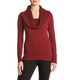 MICHAEL Michael Kors® Waffle Cowl Neck Sweater
