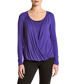 Joan Vass New York® Wrap Top