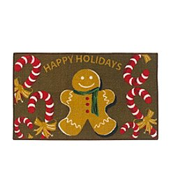 Essential Elements Gingerbread Man Accent Rug