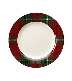 LivingQuarters Rustic Lodge Two Tiered Plate