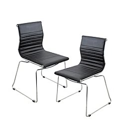 Lumisource® Set of 2 Stackable Master Chairs