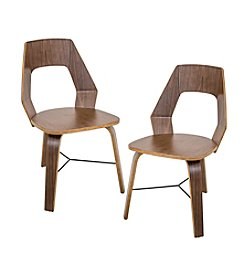 Lumisource® Set of 2 Trilogy Chairs