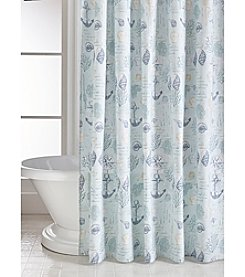 CHF Anchor Bay Printed Shower Curtain