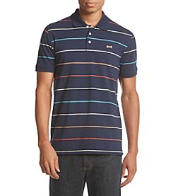 Le Tigre Men's Striped Pique Polo