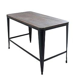 Lumisource® Pia Wood Top Desk