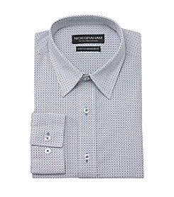 Nick Graham® Men's Blue Black Mini Dot Dress Shirt