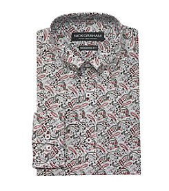 Nick Graham® Men's Paisley Dress Shirt