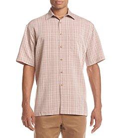 Paradise Collection® Men's Plaid Button Down Shirt