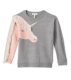 Jessica Simpson Girls' 7-16 Unicorn Sweater
