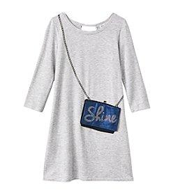 Jessica Simpson Girls' 7-16 Shine Purse Dress