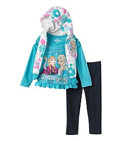Disney® Girls' 2T-6X 3-Piece Elsa Vest Set