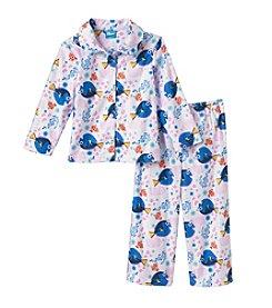 Disney® Girls' 2T-4T 2-Piece Sea Pals Pajama Set