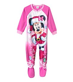 Disney® Girls' 2T-4T Merry Minnie Sleeper