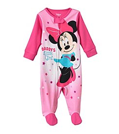 Disney® Baby Girls' Daddy's Little Minnie Mouse® Sleeper