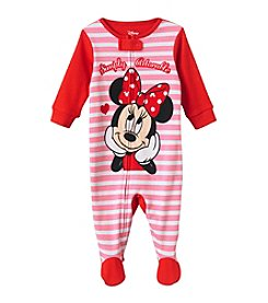 Disney® Baby Girls' Simply Adorable Minnie Mouse® Sleeper