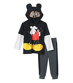 Disney® Girls' 2T-4T 2-Piece Mickey Hoodie Set