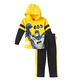 Batman® Boys' 4-7 2-Piece Batman Hoodie Set