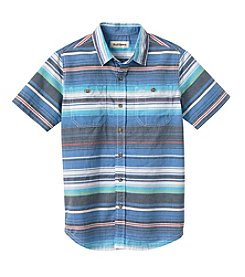 Ruff Hewn Boys' 8-20 Short Sleeve Striped Shirt