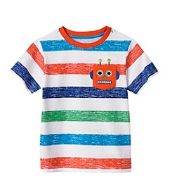 Mix & Match Boys' 2T-7 Robot Pocket Tee