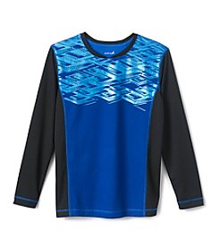 Exertek® Boys' 8-20 Long Sleeve Foil Tee