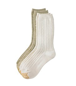 GOLD TOE® 2-Pack Boot Crew Socks