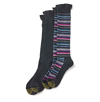 GOLD TOE® 2-Pack Knee Socks