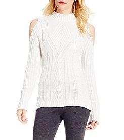 Jessica Simpson Riva Cold-Shoulder Sweater