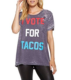 Chaser® I Vote For Tacos Tee