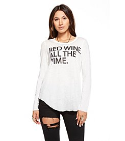 Chaser® Red Wine All The Time Tee