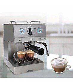 Capresso Cafe PRO Advanced Pump Boiler Professional Espresso & Cappuccino Machine