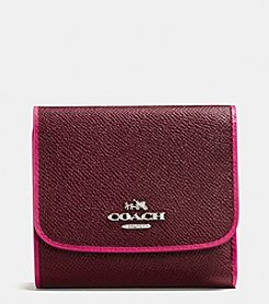 COACH SMALL WALLET IN EDGESTAIN LEATHER