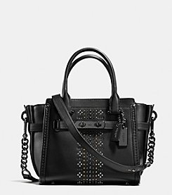 COACH BANDANA RIVETS SWAGGER 21 IN GLOVETANNED LEATHER