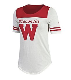 Under Armour® NCAA® Wisconsin Badgers Women's Iconic Jersey Tee