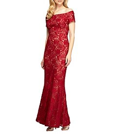 Alex Evenings® Fit And Flare Long Gown