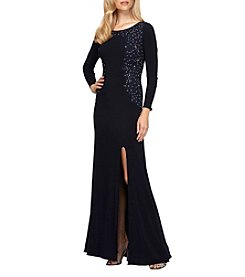 Alex Evenings® Side Slit Long Gown
