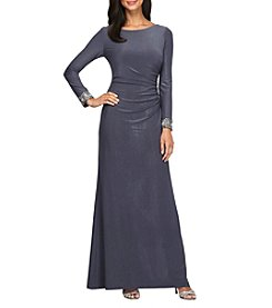 Alex Evenings® A-Line Long Gown