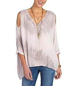 Democracy Square Sleeve Top
