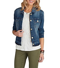 Democracy Patch Pocket Denim Jacket
