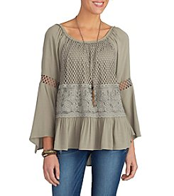 Democracy Off-Shoulder Peasant Blouse