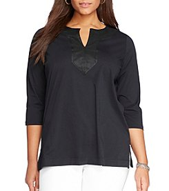 Lauren Ralph Lauren® Plus Size Cotton Tunic