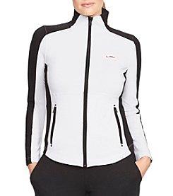 Lauren Ralph Lauren® Plus Size Mockneck Track Jacket