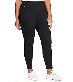 Lauren Ralph Lauren® Plus Size Jersey Ankle Pants