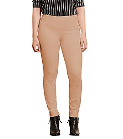 Lauren Ralph Lauren® Plus Size Stretch Cotton Skinny Pants
