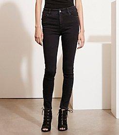 Lauren Ralph Lauren® Petites' Zip-Cuff Skinny Jeans