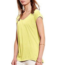 Lauren Active® Jersey Scoopneck Tee