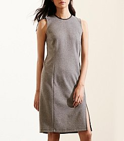 Lauren Ralph Lauren® Herringbone Sheath Dress