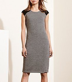 Lauren Ralph Lauren® Merino-Suede Sweater Dress