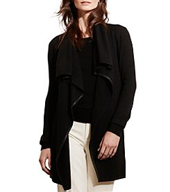 Lauren Ralph Lauren® Draped Open-Front Cardigan